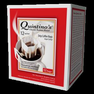 Qbags 12 sachets – Sumatran mellow