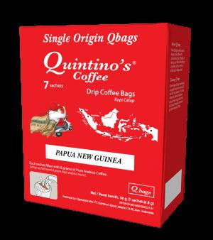 Qbags 7 sachets – Papua New Guinea
