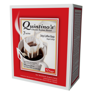 Qbags 7 sachets – Mocca Java