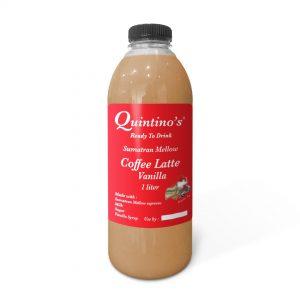 Quintino's Coffee Latte Vanilla 1 Liter