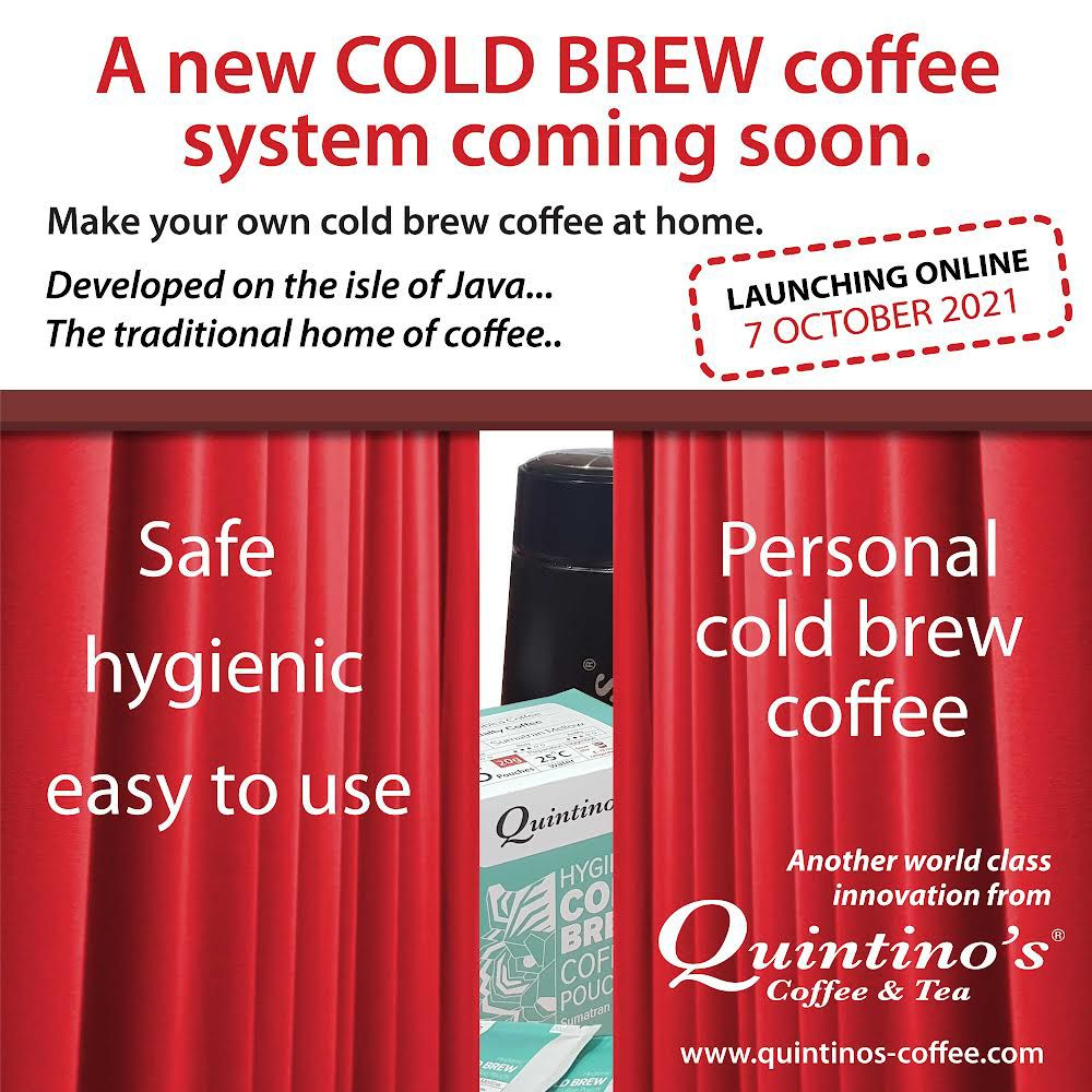All New Cold Brew Coffee System